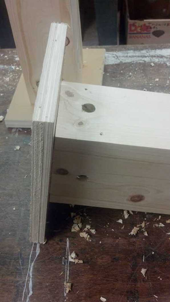 boring your own holes for wood bees to enter and save your wood trim on your house