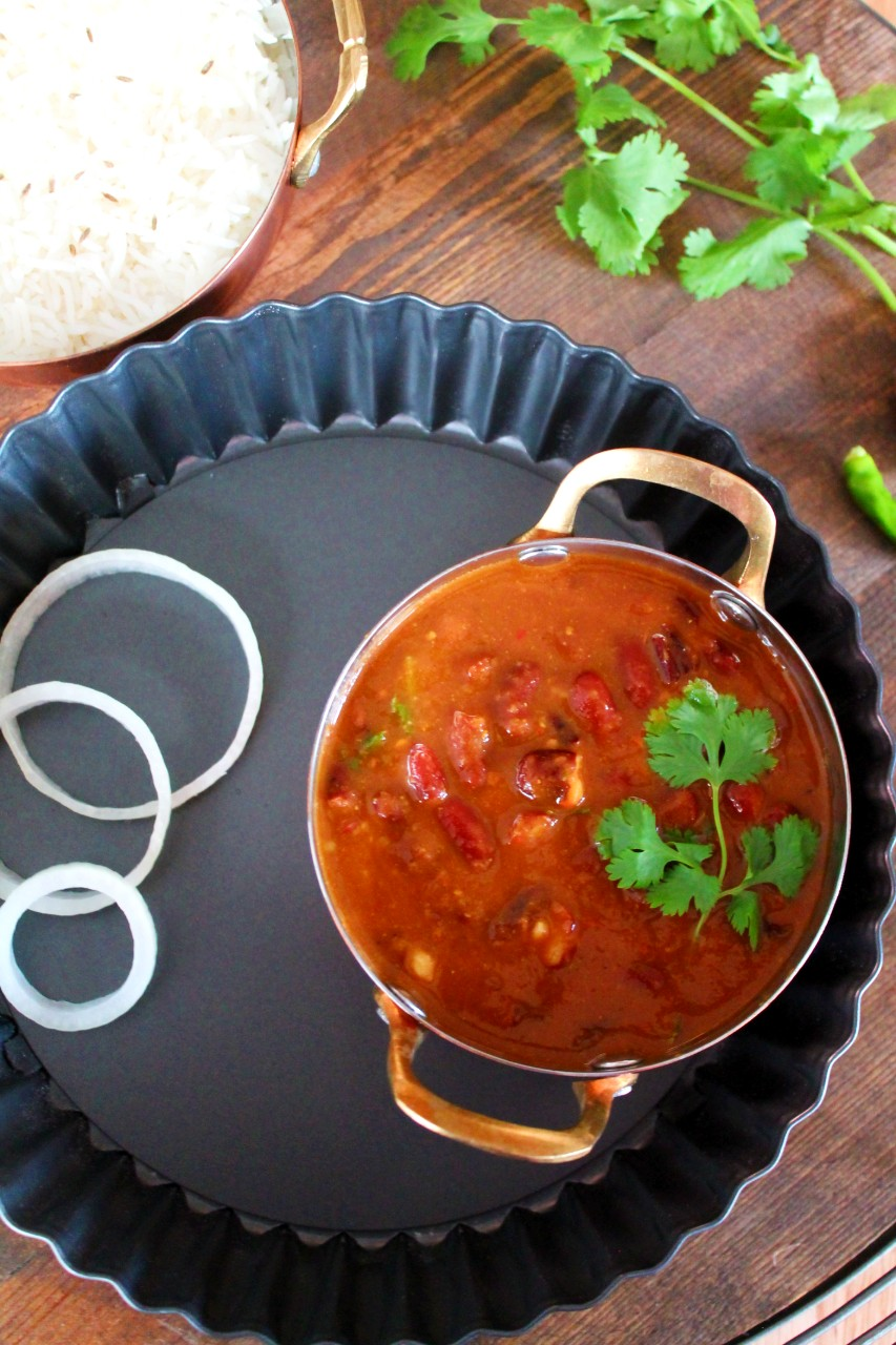 Rajma Masala - Instant Pot, Stove Top