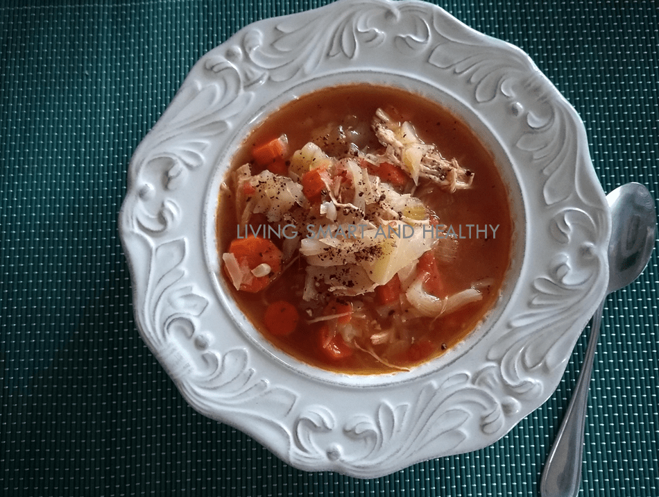 Instant Pot Chicken And Cabbage Soup