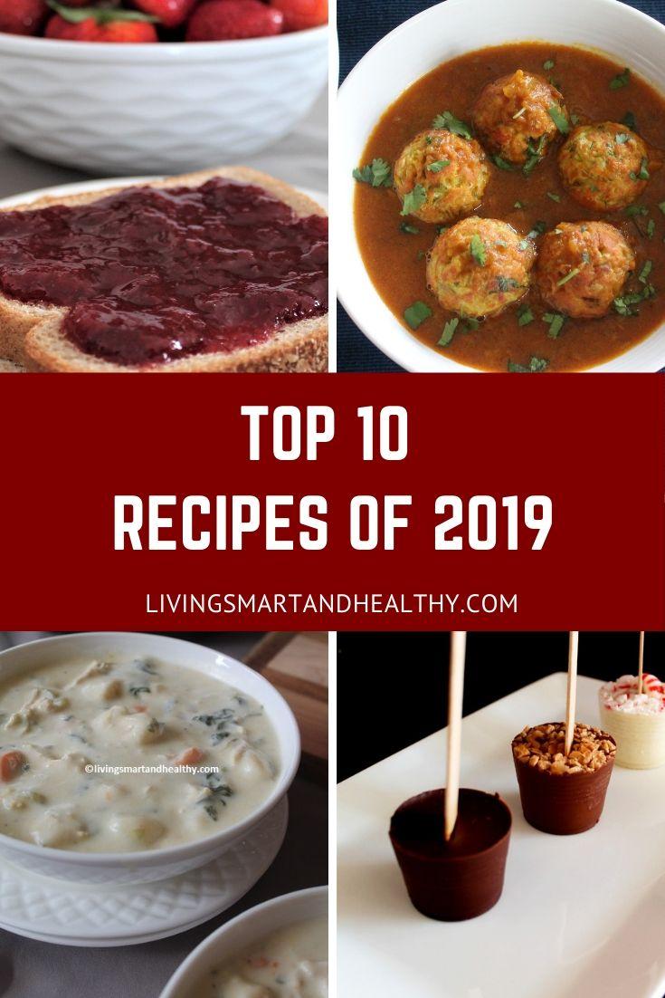 Top 10 recipes of 2019