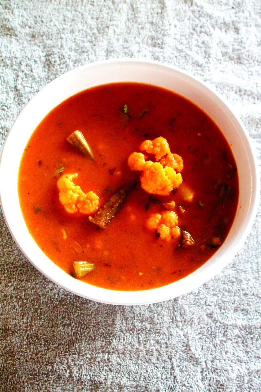 Sindhi Tomato Kadhi – Instant Pot, Stove Top