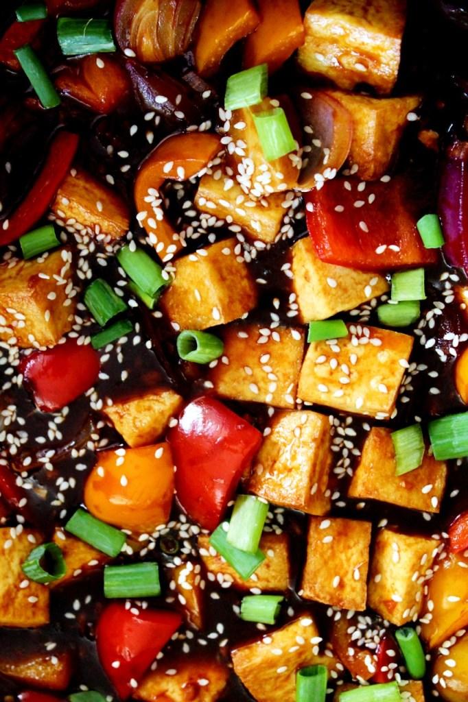 Chili Tofu - Instant Pot, Air Fryer, Stove Top