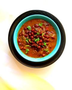 Kala Chana Masala / Black Chickpeas Curry – Instant Pot, Stove Top