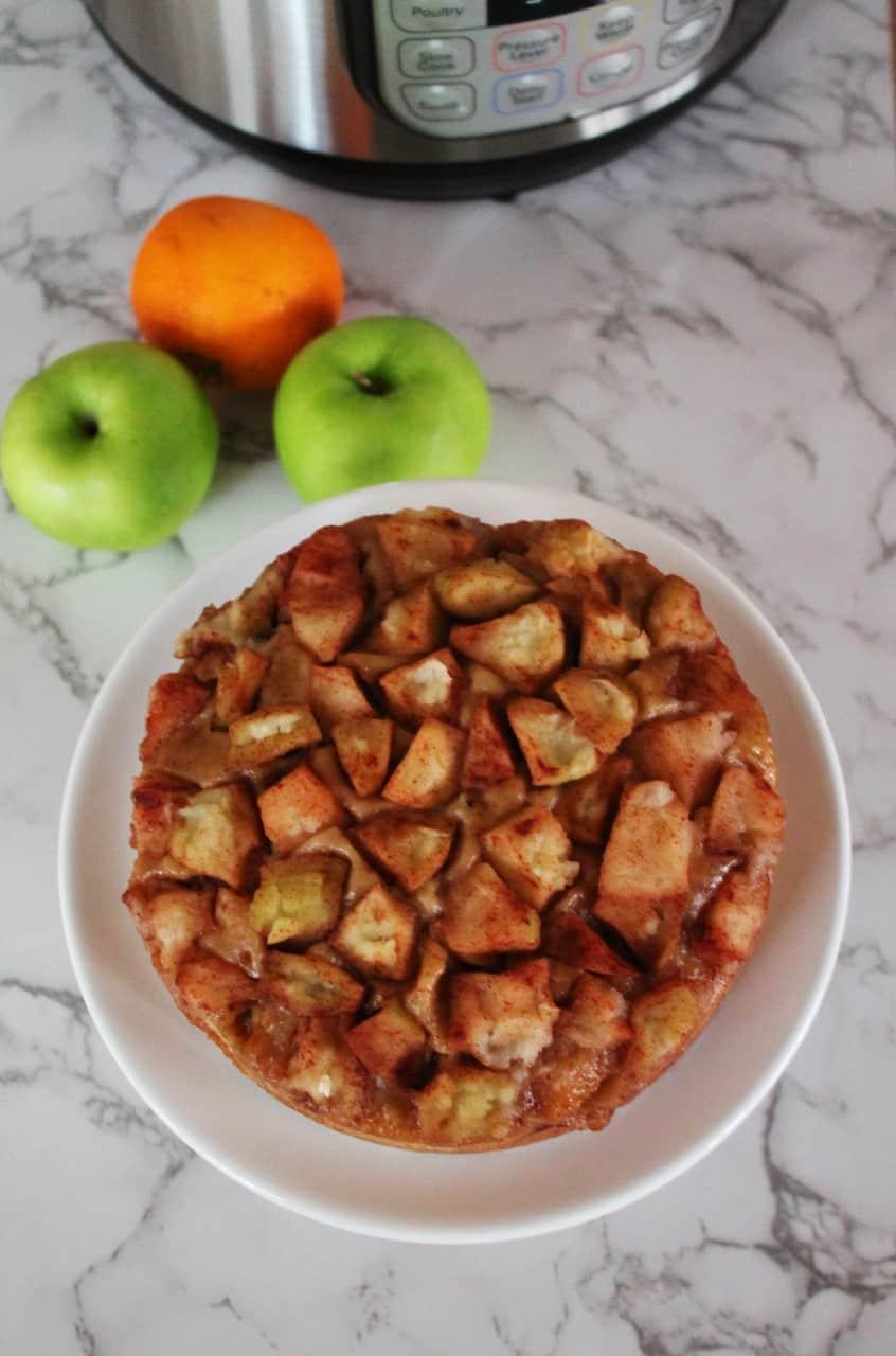 Homemade Apple Cake - Instant Pot, Oven