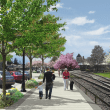 Downtown Snoqualmie 'Remodeling' Work Continues; Expect some Delays, Parking Changes