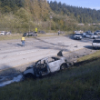 Serious Multiple Car, Roll-Over Collision near Preston Closes Westbound I-90