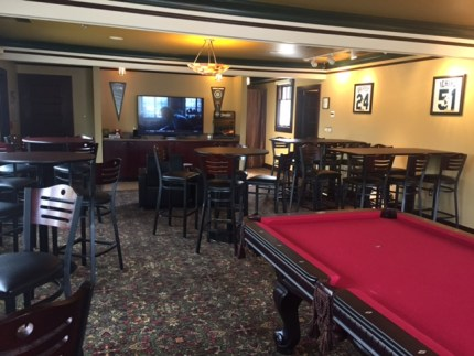Roadhouse Restaurant new upstairs Party/Pub Room.