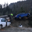 Icy roads lead to multiple accidents, one serious roll over on westbound I-90 during morning commute