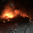 Fire Crews kept busy Christmas Day, battle two large fires on Eastside