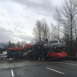 Serious injury collision closes eastbound I-90 in North Bend during evening commute