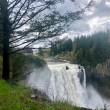 VIDEO | Snoqualmie Falls roaring after weeks of heavy Spring rain