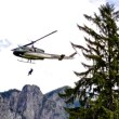 Search and Rescue helicopter training and bomb squad training near North Bend October 22nd