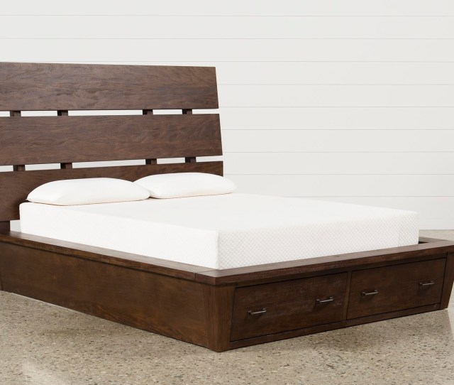 Livingston Queen Storage Bed 360