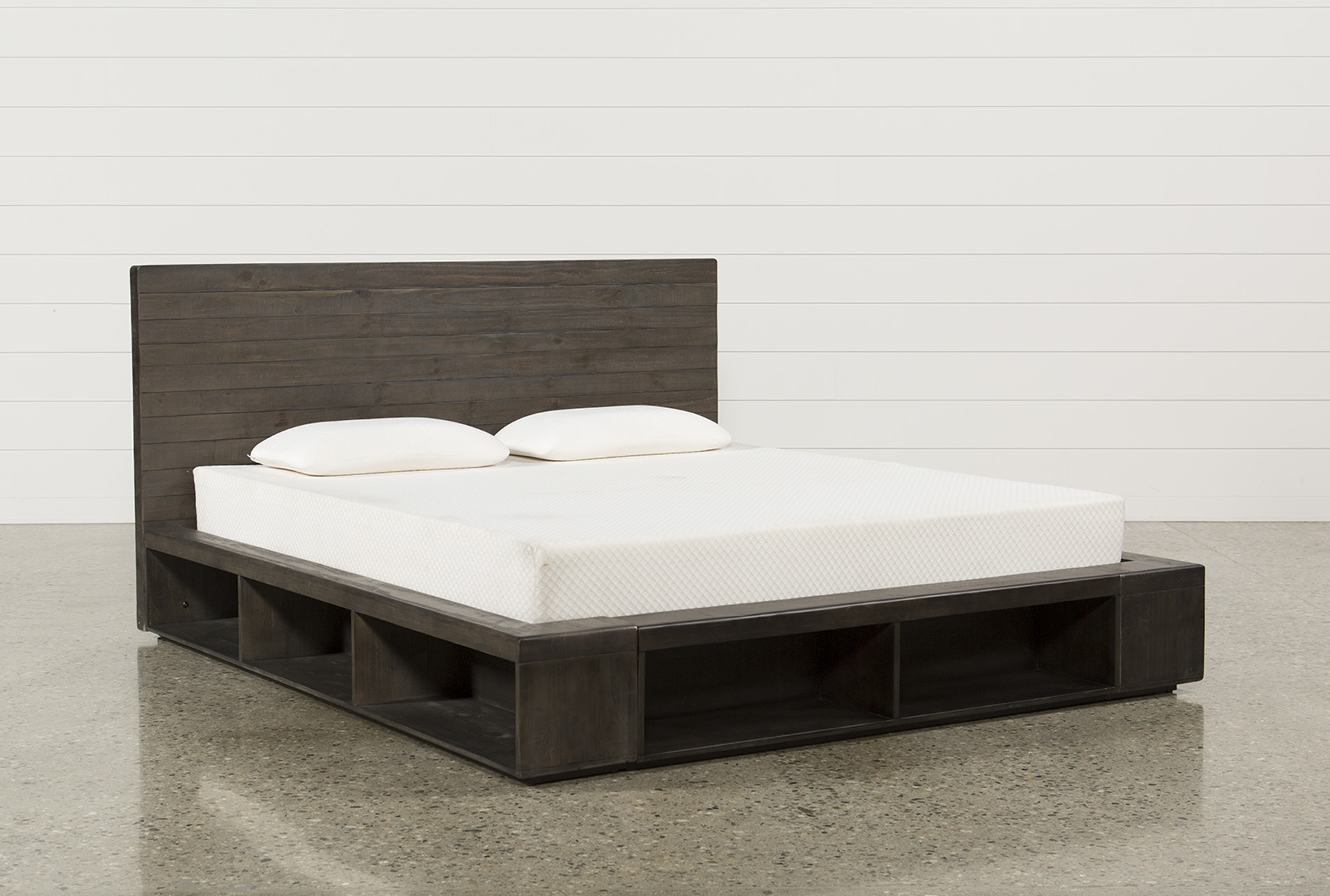 Dylan Eastern King Platform Bed Qty 1 Has Been Successfully Added To Your Cart