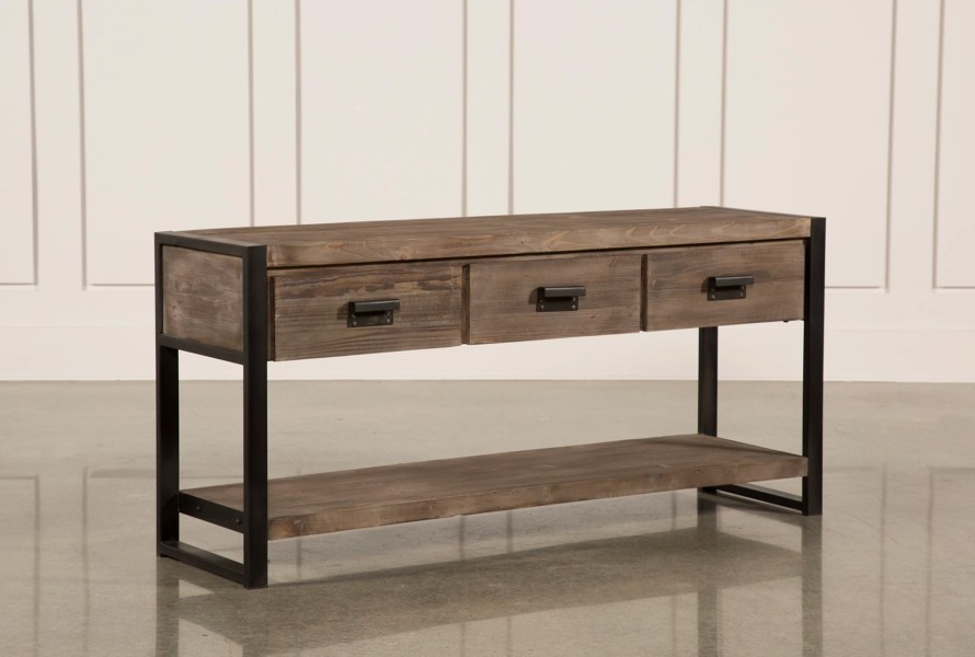 Prescott Sofa Table   Living Spaces Prescott Sofa Table  Qty  1  has been successfully added to your Cart