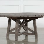 Jaxon Grey Round Extension Dining Table Living Spaces