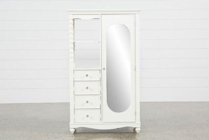 madison white armoire
