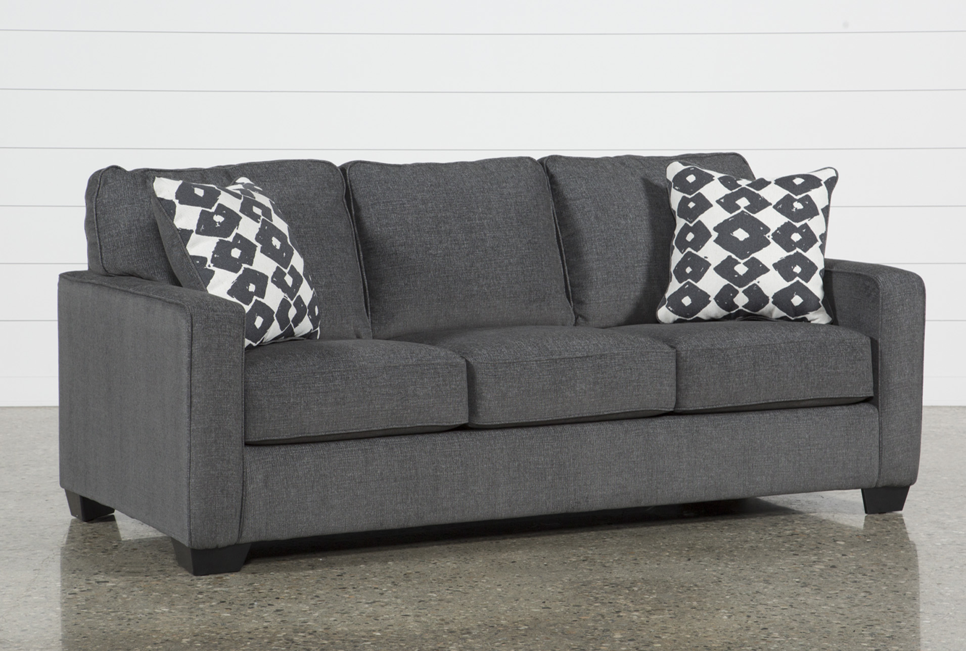 Sofa Beds   Free Assembly with Delivery   Living Spaces Turdur Queen Sofa Sleeper