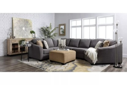 fenton 3 piece 150 sectional with right arm facing cuddler