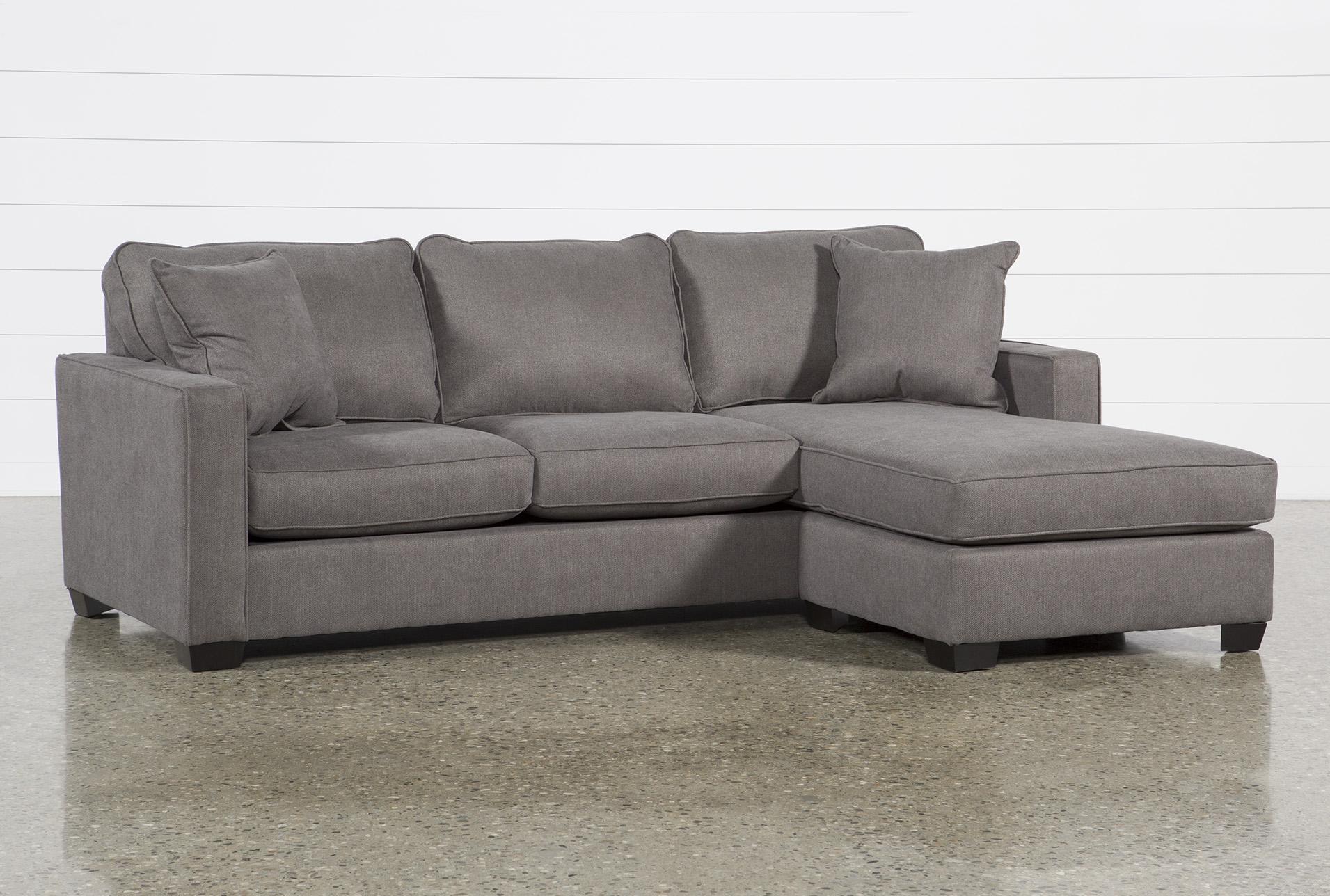 egan ii charcoal 93 sofa with reversible chaise