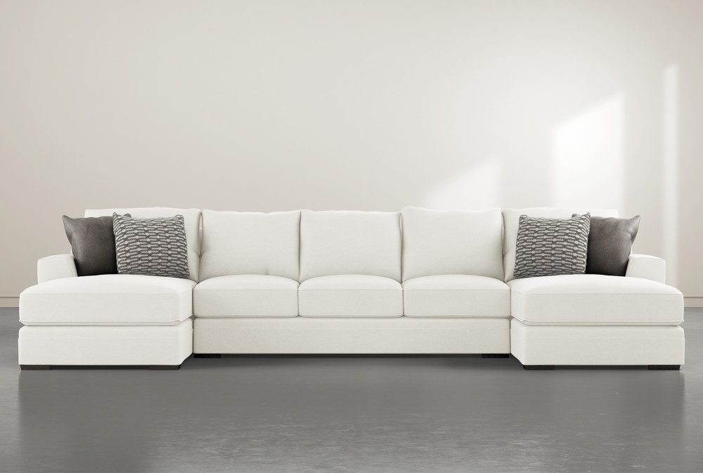 delano pearl 3 piece 169 sectional with double chaise