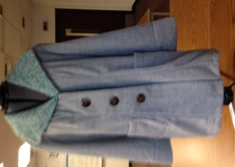 Student-made coat