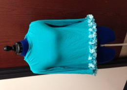 Student-made blouse