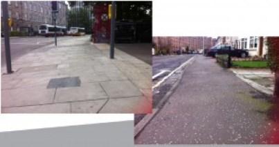 City of Edinburgh reasonable adjustments not made - crossfall