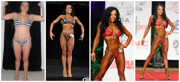 A few snapshots of my bodybuilding journey