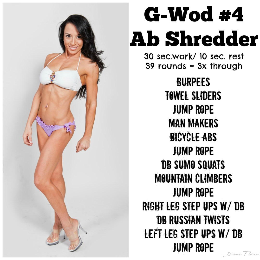 G-Wod #4 Ab Shredder