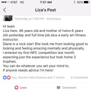 liza testimonial