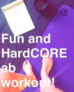 Fun and hard core ab image