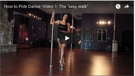 Let your light shine + how to walk sexy (video)