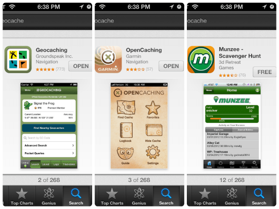 geocache apps-w560-h600