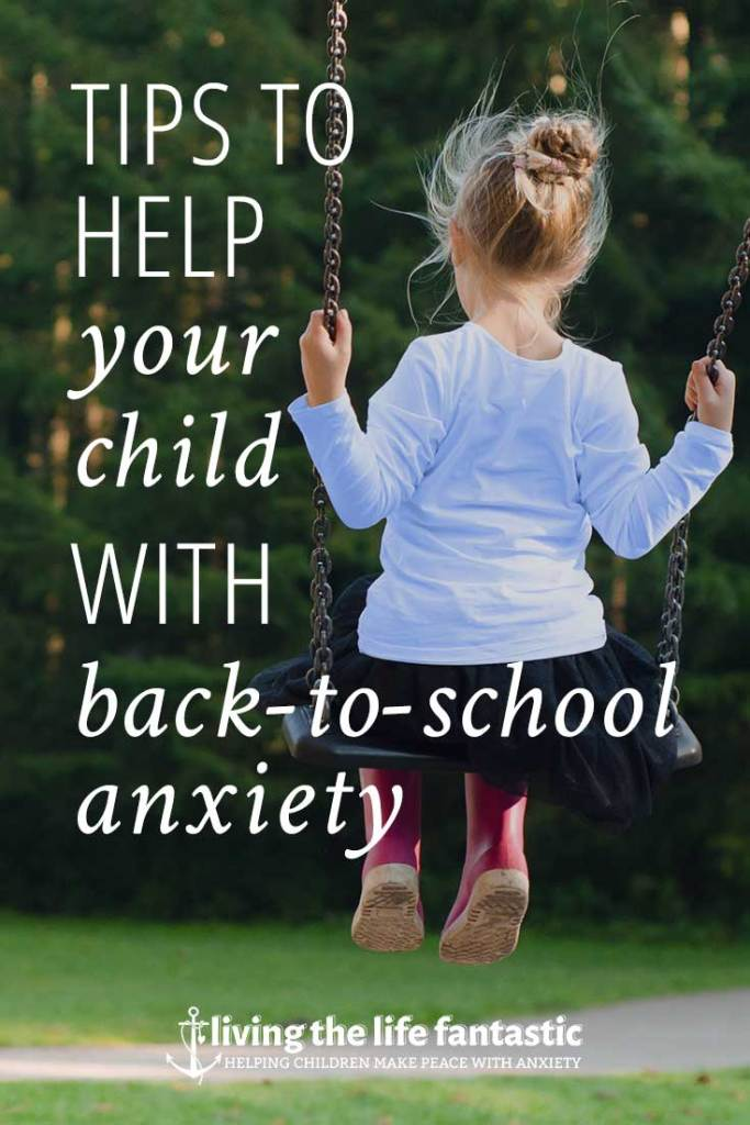 tips for back-to-school anxiety