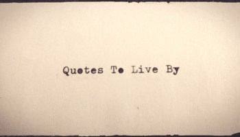 Quintessential Quotes 120514 Living To The Utmost
