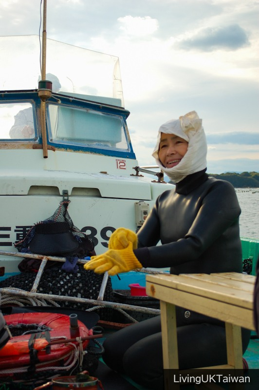 Diving with Ama at Ise, Japan