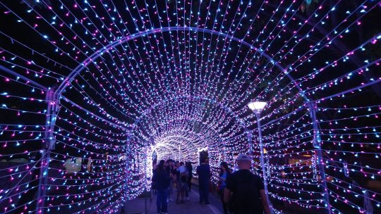 Visiting Taichung Landmarks on Christmas Day