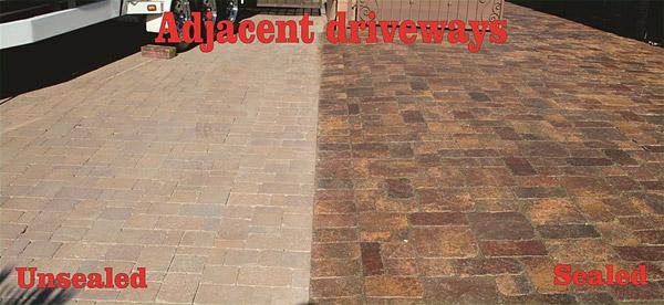 paver sealing and restoration living