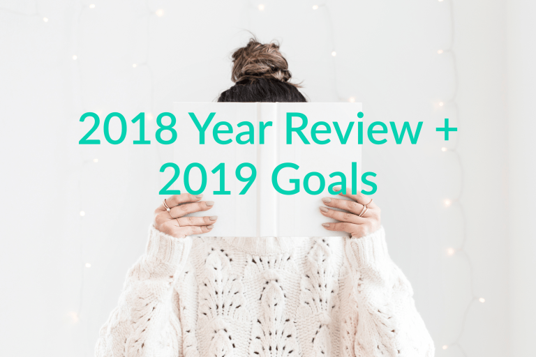 2018 Review and 2019 Goals