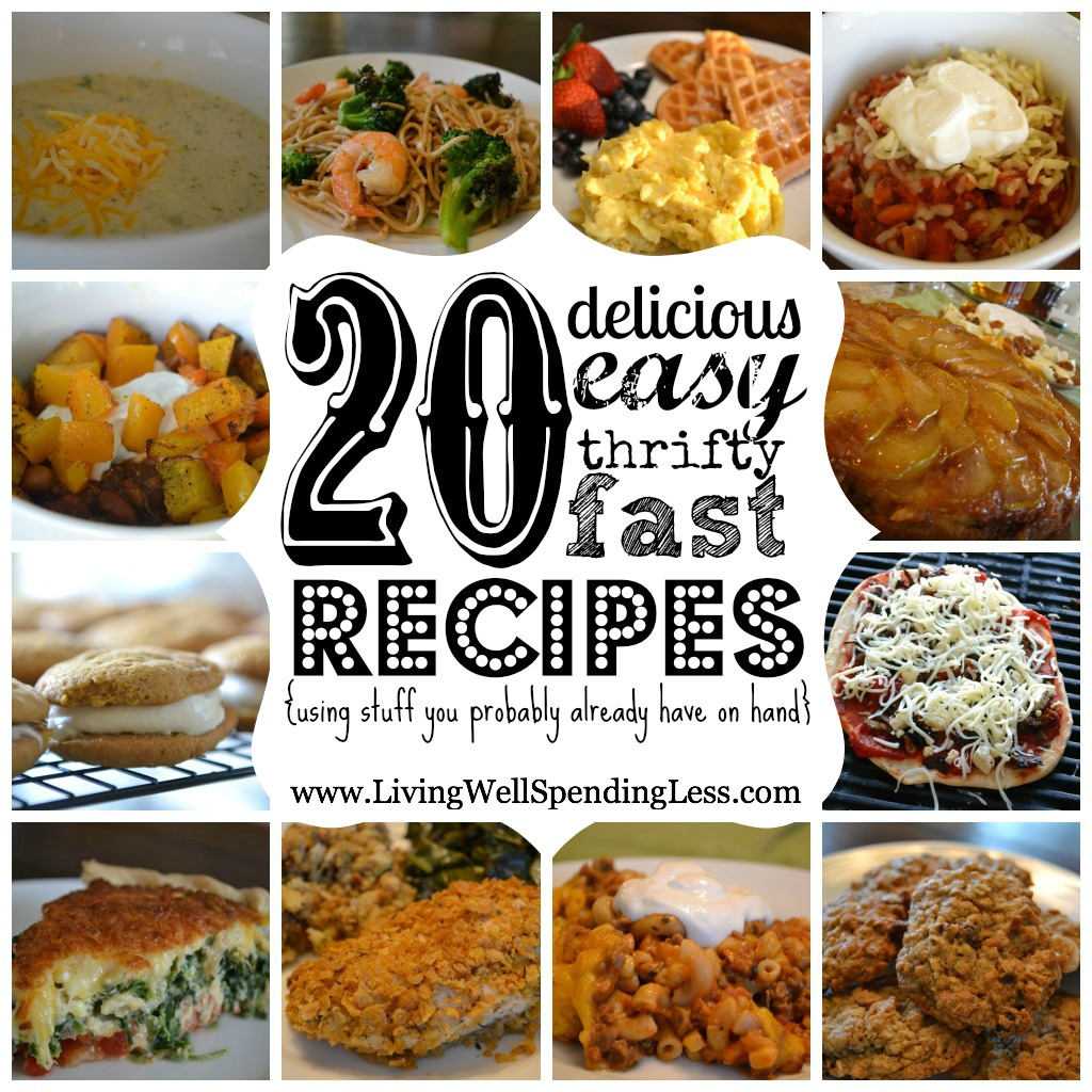 20 Easy Meal Ideas And Recipes
