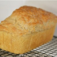 5 Minutes of Work- Beer Bread