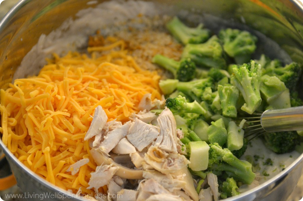 Cheesy Chicken, Broccoli and Rice Casserole | The Yellow Pine Times