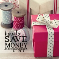 how to save on wrapping paper square 2