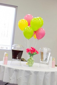 Balloons In The Pink, Lime, and Yellow Color Palette