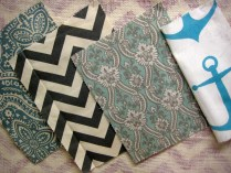 Southern Style Fabric options grays and blues- Living With Color Designs