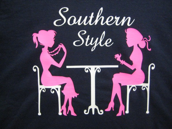 Sports Mom Shirts by Southern Style Logo shirt- Living With Color Designs
