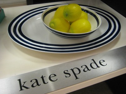 Kate Spade Charlotte Street North Platter- Living With Color Designs