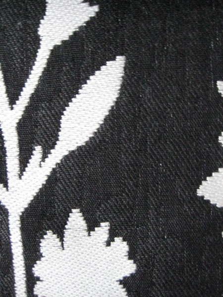 Black and White Outdoor Fabric - Living With color Designs