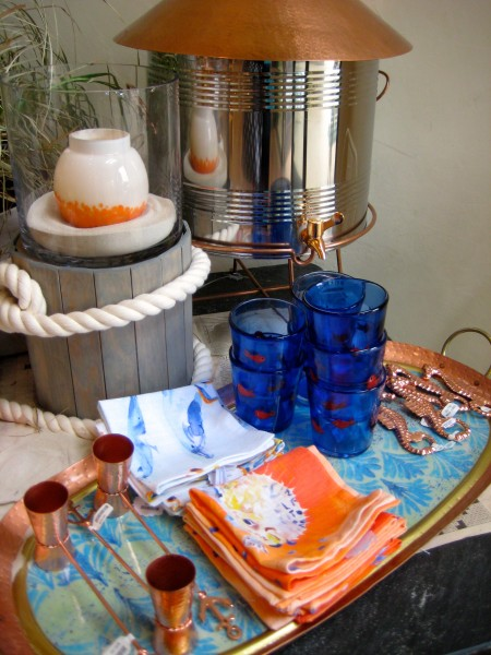 Beach themed items for entertaining-Entertain with these essentials for a low-country boil - Living With Color Designs